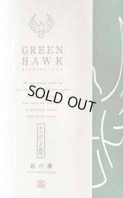 画像1: 伊藤酒造 越の鷹 GREEN HAWK あらばしり 純米吟醸生原酒  2019BY  720ml